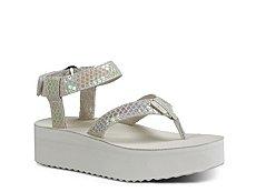 Teva Flatform Iridescent Sandal