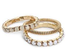 One Wink Mesh Stretch Bracelet Set
