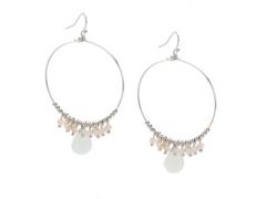 One Wink Jewel Accent Hoop Earrings Dsw