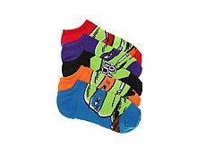 Nickelodeon Teenage Mutant Ninja Turtle Kids No Show Socks - 5 Pack