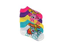 My Little Pony Girls No Show Socks - 5 Pack