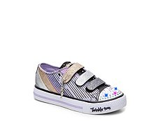 Skechers Twinkle Toes Fresh N Fab Girls Toddler & Youth Light-Up Sneaker