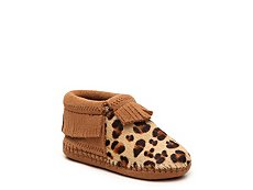 Minnetonka Riley Girls Infant & Toddler Leopard Boot