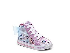Skechers Twinkle Toes Shuffles Pixie Girls Toddler Light-Up High-Top Sneaker