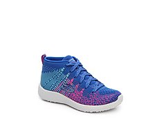 Skechers Burst Sweet Symphony Girls Toddler & Youth Mid-Top Sneaker