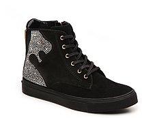 Beverly Feldman Brilliant High-Top Sneaker