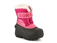 Sorel Snow Commander Girls Infant & Toddler Snow Boot