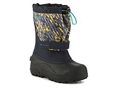 Columbia Powderbug Plus II Print Boys Toddler & Youth Snow Boot