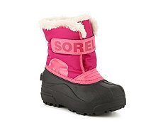 Sorel Snow Commander Girls Toddler & Youth Snow Boot