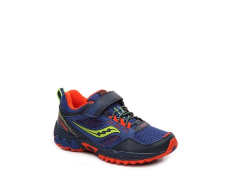 saucony excursion shield boys toddler youth running shoe
