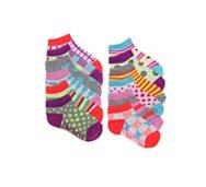 Skechers Mix & Match Kids No Show Socks - 6 Pack