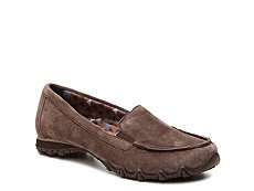 Skechers Relaxed Fit Bikers Suede Slip-On