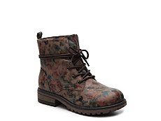 Olive & Edie Hazel Girls Toddler & Youth Combat Boot