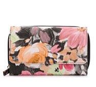 Kelly & Katie Pastel Floral Checkbook Wallet