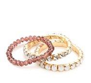 One Wink Crystal Stretch Bracelet