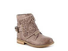 Not Rated Crunchiness Girls Toddler & Youth Combat Boot