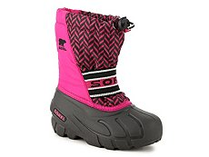 Sorel Cub Graphic Girls Toddler & Youth Snow Boot