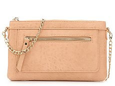 Madison West Front Zip Crossbody Bag