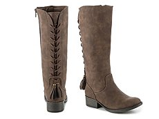 Steve Madden Nikkii Girls Youth Riding Boot
