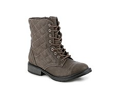 Steve Madden Talker Girls Youth Combat Boot
