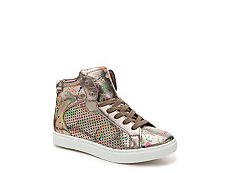 Steve Madden Trixx Girls Youth High-Top Sneaker