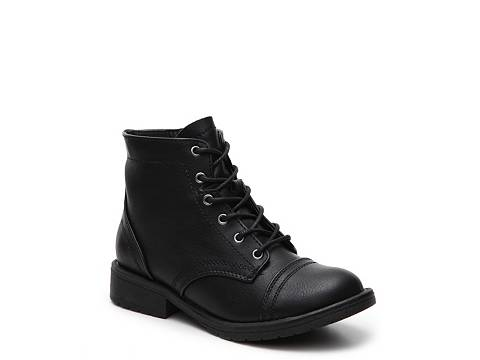 Girls Combat Boots - Cr Boot