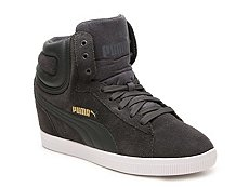 Puma Vikky High-Top Wedge Sneaker - Womens