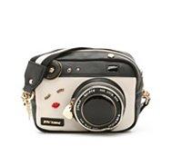 Betsey Johnson Kitsch Camera Crossbody Bag