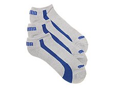 Puma Bamboo Mens No Show Socks - 3 Pack