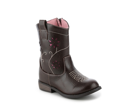 Olive & Edie Tootsie Girls Toddler Cowboy Boot