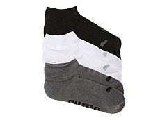 Puma Invisible Mens No Show Socks - 6 Pack