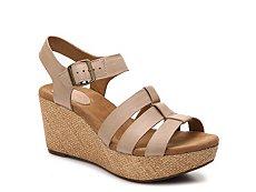 Clarks Caslynn Wedge Sandal