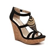 Qupid Glory-127 Wedge Sandal