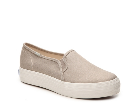 womens keds triple decker slip on sneakers