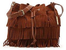 Vince Camuto Riqui Leather Hobo Bag
