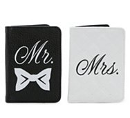 Tri-Coastal Design Mr & Mrs Passport Cases