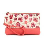 Mix No. 6 Floral Rose Wristlet