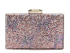 Lulu Townsend Glitter Clutch