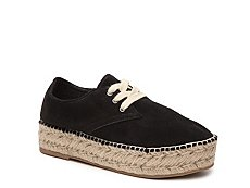 Steven by Steve Madden Phylicia Suede Flatform Oxford