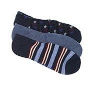 Converse Americana Mens No Show Socks - 3 Pack