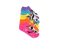 Disney Frozen Kids No Show Socks - 5 Pack
