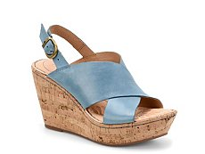 Born Emmy Cork Wedge Sandal