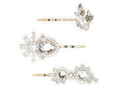 Allure Milky Petal Bobby Pins - 3 Pack