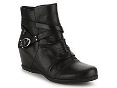 Bare Traps Qui Wedge Bootie