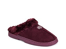 Muk Luks Faux Fur Clog Slipper