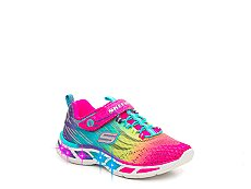 Skechers Litebeams Girls Toddler & Youth Light-Up Sneaker