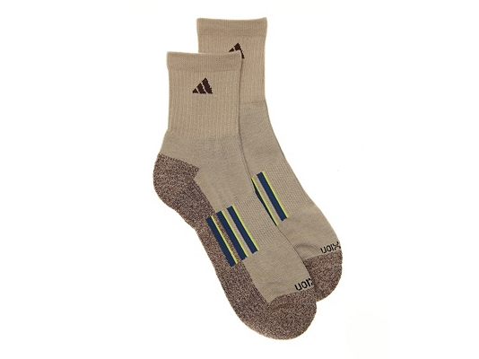 adidas climalite | TRAXION Mens Ankle Socks - 2 Pack