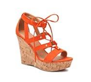 Qupid Clemence-195 Wedge Sandal