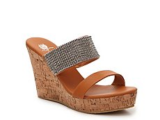 GC Shoes Vanity Wedge Sandal