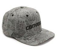 Converse Collaged Map Snapback Baseball Cap